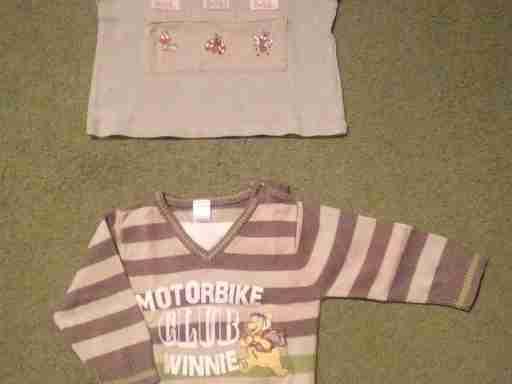Tričko a svetr